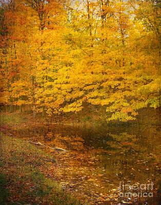Autumn Impressions Poster by Kathi Mirto