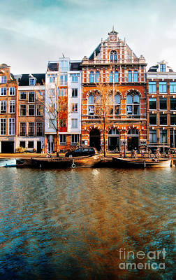 Autumn In Amsterdam  Poster