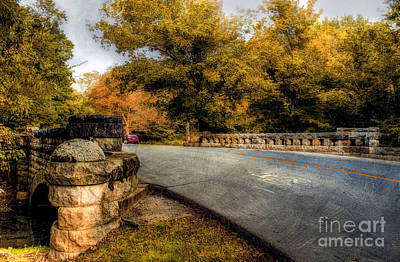 Autumn In Cherokee Park Poster by Darren Fisher