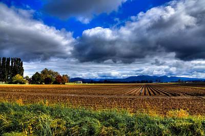 Autumn In Mount Vernon Poster