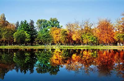 Autumn In October Poster by Ivan Vukelic