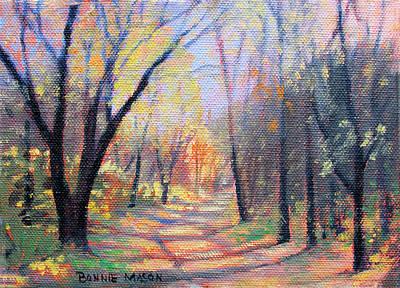 Autumn Kaleidoscope Poster by Bonnie Mason