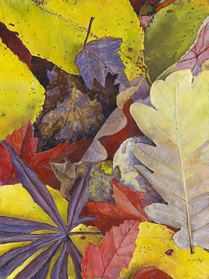 Autumn Leaves Poster by Nick Payne