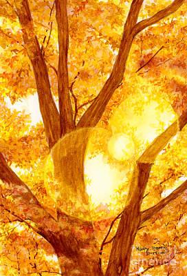 Autumn Light Poster by Hailey E Herrera