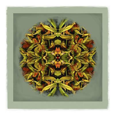 Autumn Mandala Poster