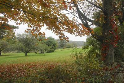 Autumn Meadow Poster by Jim Gillen