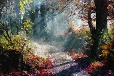 Autumn Memory Poster by Gun Legler