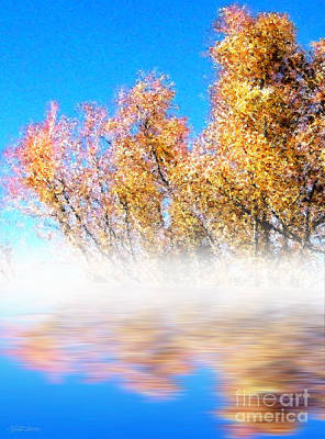 Poster featuring the photograph Autumn Mist by Cristophers Dream Artistry