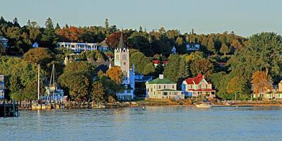 Autumn On Mackinac Island Poster
