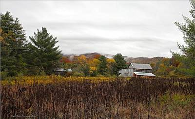 Autumn On The Farm Poster