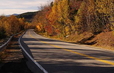 Autumn On The Kancamagus Highway Poster by Luke Moore