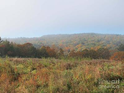 Autumn Pasture Poster by Linda Marcille