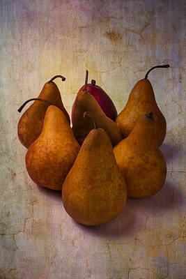 Autumn Pears Poster