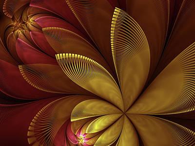 Autumn Plant Poster by Gabiw Art