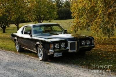 Autumn Pleasures 1970 Pontiac Grand Prix Poster