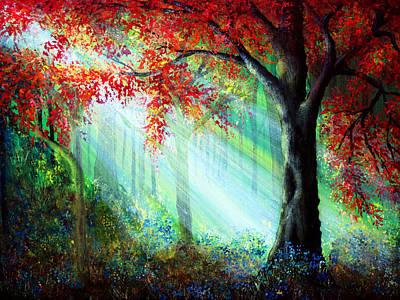Autumn Rays Poster