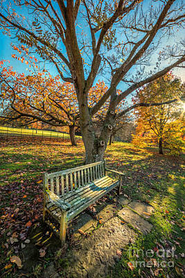 Autumn Rest Poster by Adrian Evans