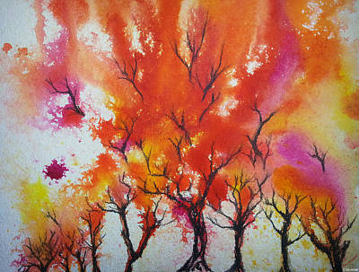 Autumn Riot Poster