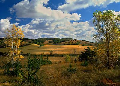 Autumn Skies Poster