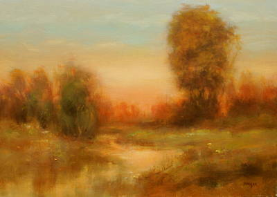Autumn Splendor Poster by Richard Hinger