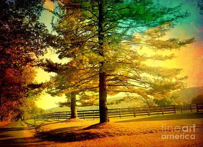 Autumn Stroll Poster
