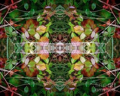 Autumn Symmetry Poster