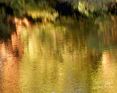 Poster featuring the photograph Autumn Water by Lee Craig