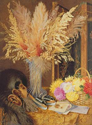 Autumnal Still Life Poster