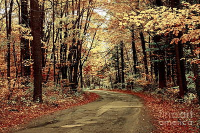 Autumns Dressing Poster