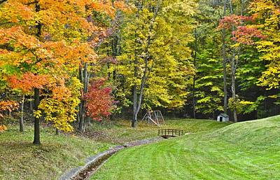 Autumns Playground Poster by Frozen in Time Fine Art Photography