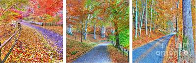 Autumns Way Poster by John Kelly