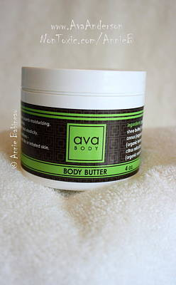 Ava Anderson Body Butter Poster by Anne Babineau