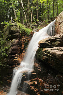 Poster featuring the photograph Avalanche Falls by Jemmy Archer
