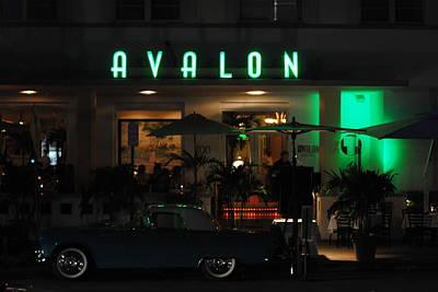 Avalon Hotel Poster