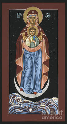 Ave Maris Stella  Hail Star Of The Sea 044 Poster