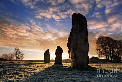 Avebury Stone Circle 1 Poster by Rod McLean
