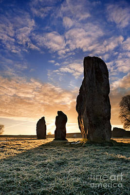 Avebury Stone Circle 2 Poster by Rod McLean