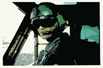 Aviator Poster by Julio Lopez