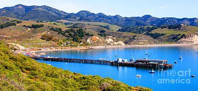 Avila Beach California Fishing Pier Poster