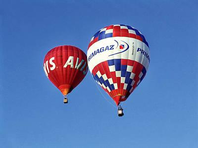 Avis Balloon Poster by John Swartz