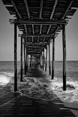 Poster featuring the photograph Avon Fishing Pier by Ben Shields
