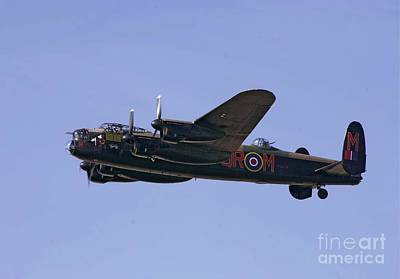 Avro 638 Lancaster At The Royal International Air Tattoo Poster by Paul Fearn