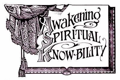 Awakening Spiritual Knowbility Poster