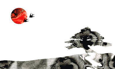 Awakening - Zen Landscape Art Poster