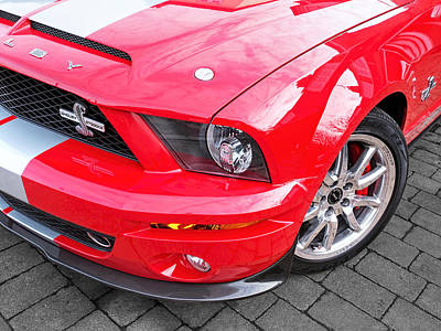 Awesome Mustang - Shelby Gt500 Kr Poster