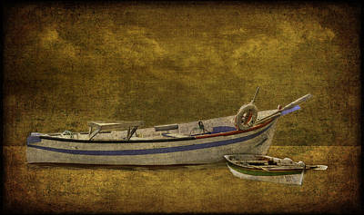 Azorean Fishing Boats Poster
