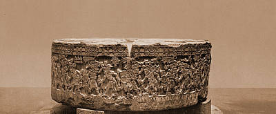 Aztec Sacrificial Stone, City Of Mexico, Jackson, William Poster