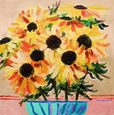 Azure Vase Poster by John Williams