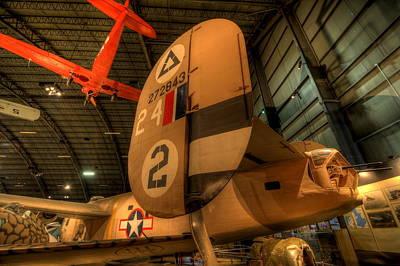 B-24 Liberator Tail Poster