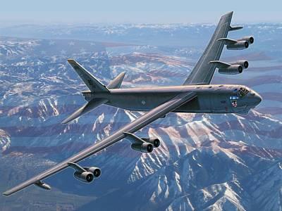 B-52 Stratofortress  America's Backbone Poster